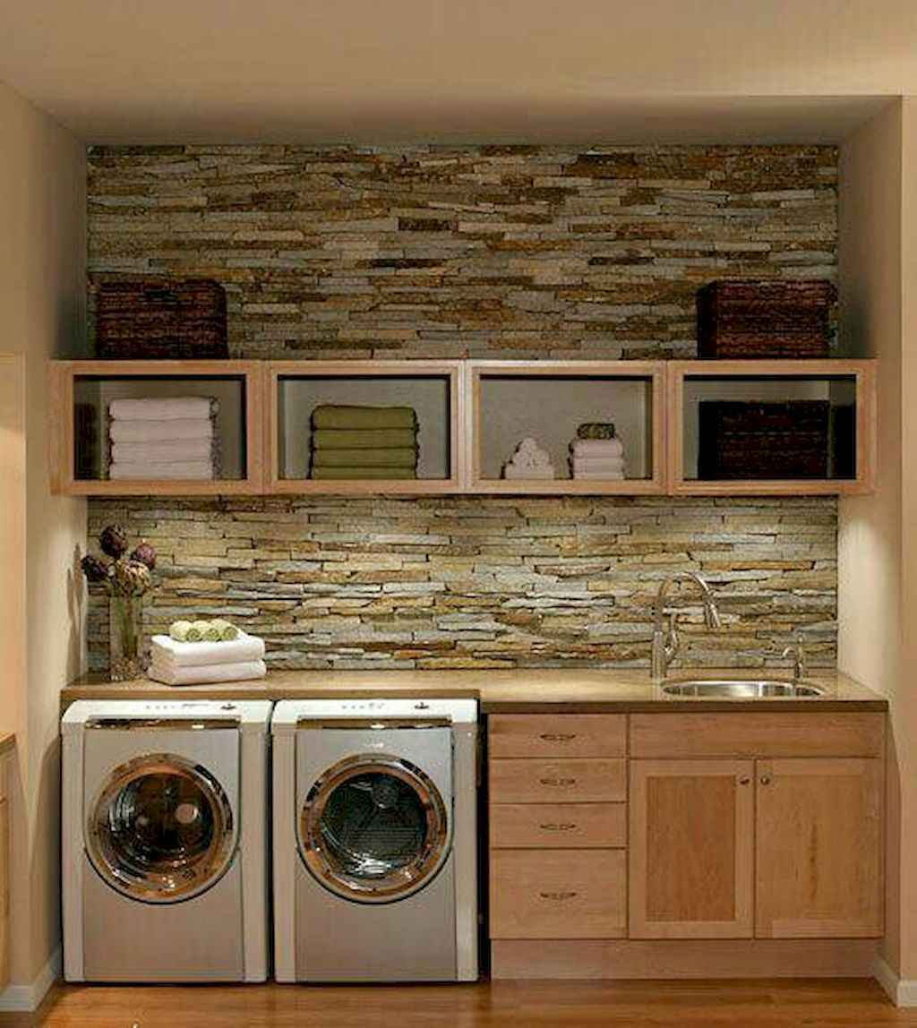 40+ beautiful rustic laundry room design ideas for your home (9)