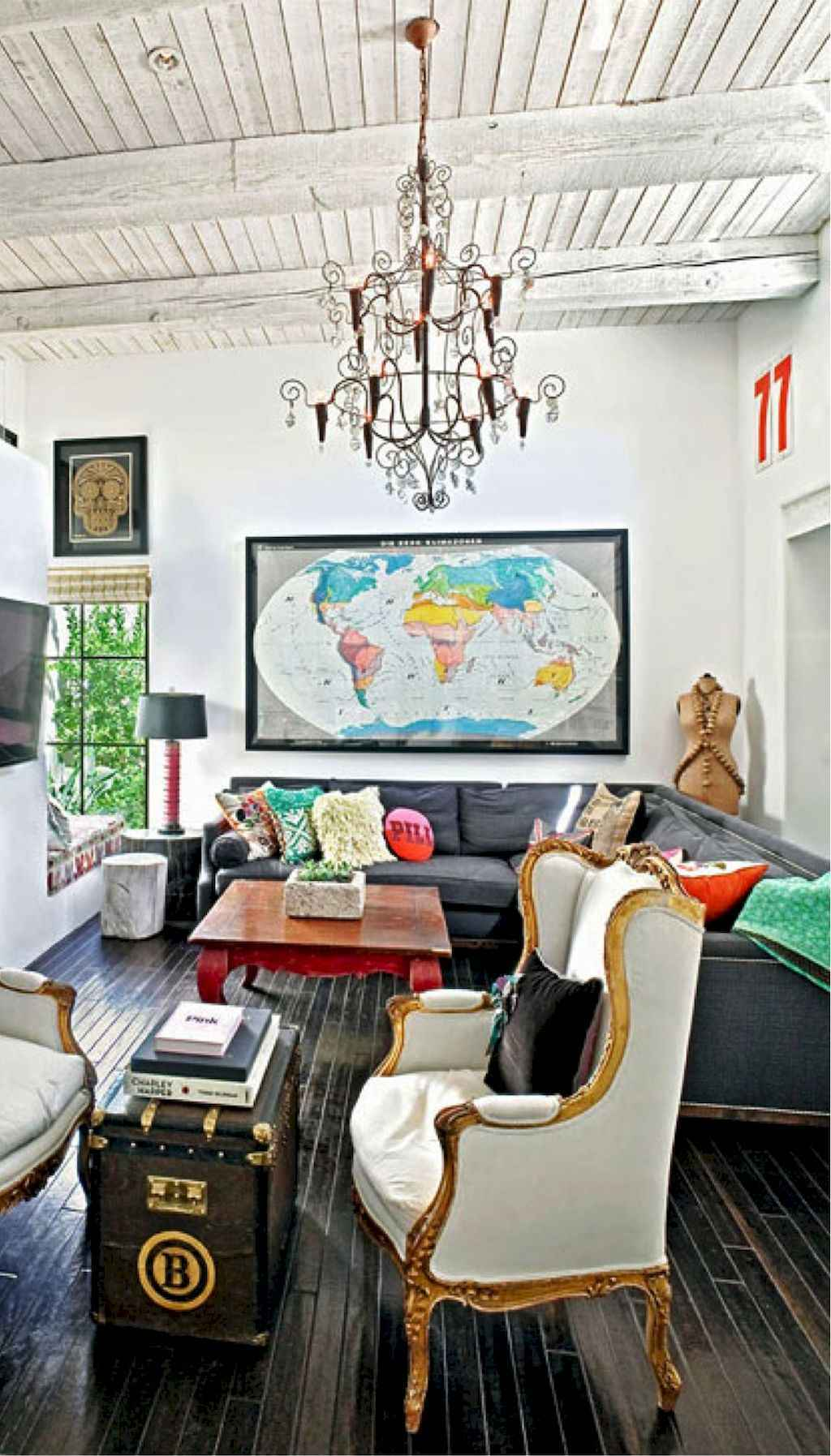 60 amazing eclectic style living room design ideas (52 ...