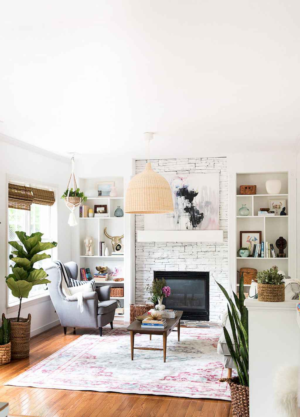 60 awesome eclectic fireplace ideas (26)