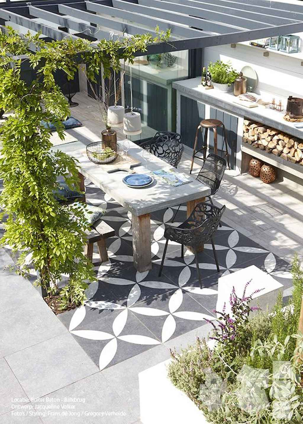 60 fabulous outdoor dining ideas (50)