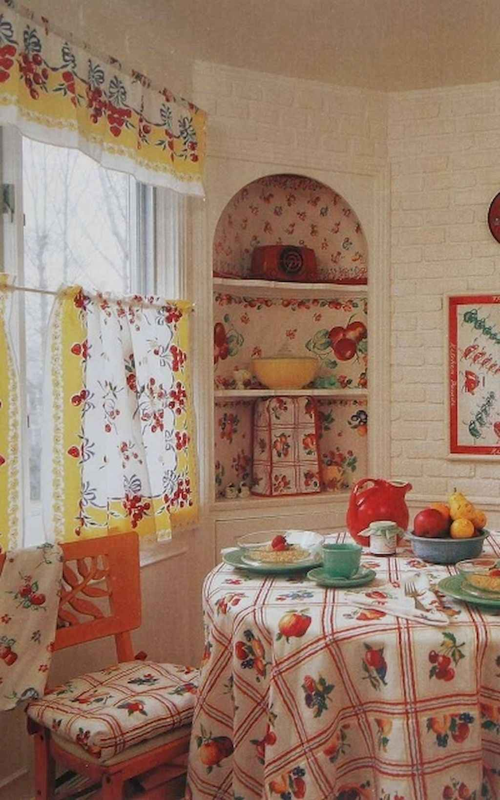 60 great vintage design ideas for your kitchen 19 for 1940s window treatments