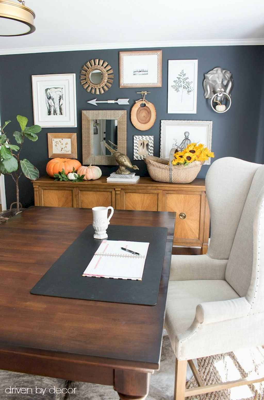 60 Home Office Eclectic Decorating Ideas 23