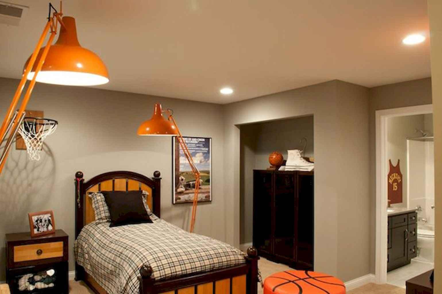 50 Sport Bedroom Design Ideas Remodel for Boys - LivingMarch.com