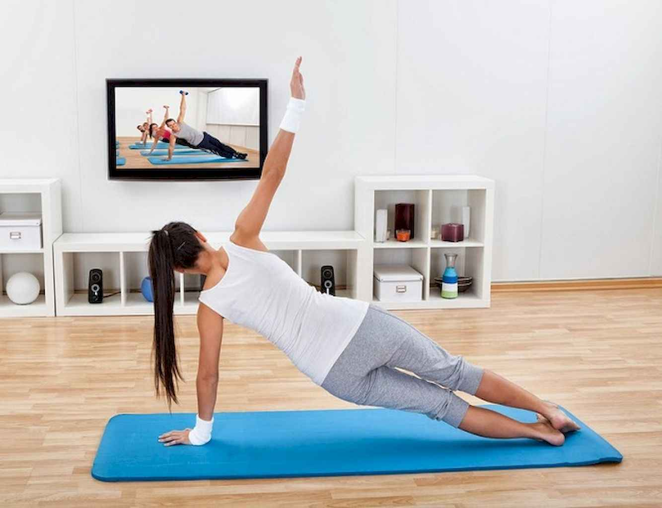 Home gym ideas small spaces 20 LivingMarch