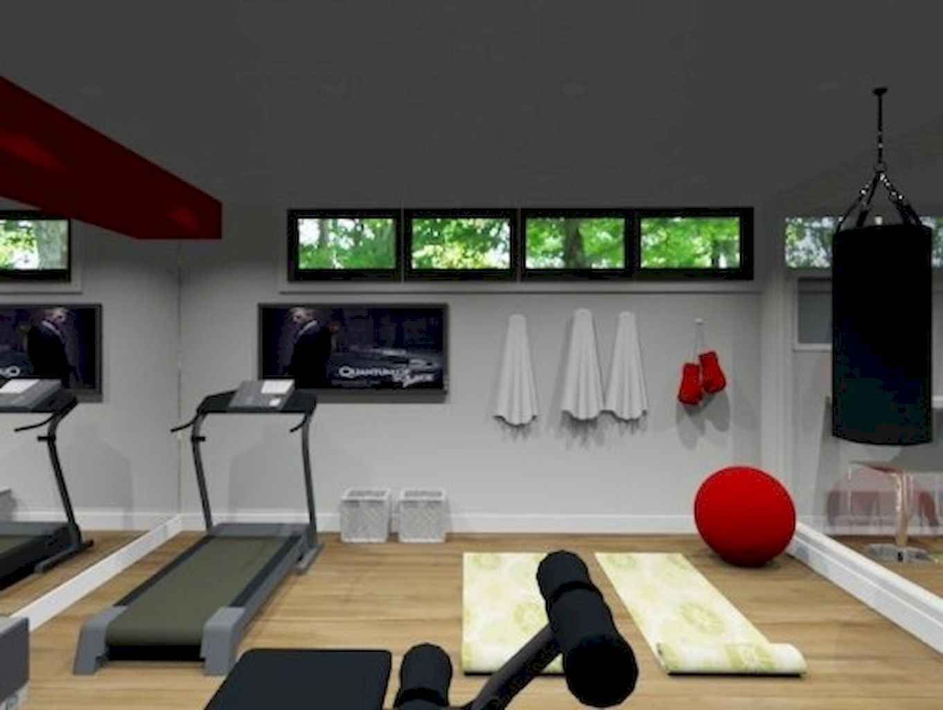Home gym ideas small spaces 31 for Home gyms small spaces