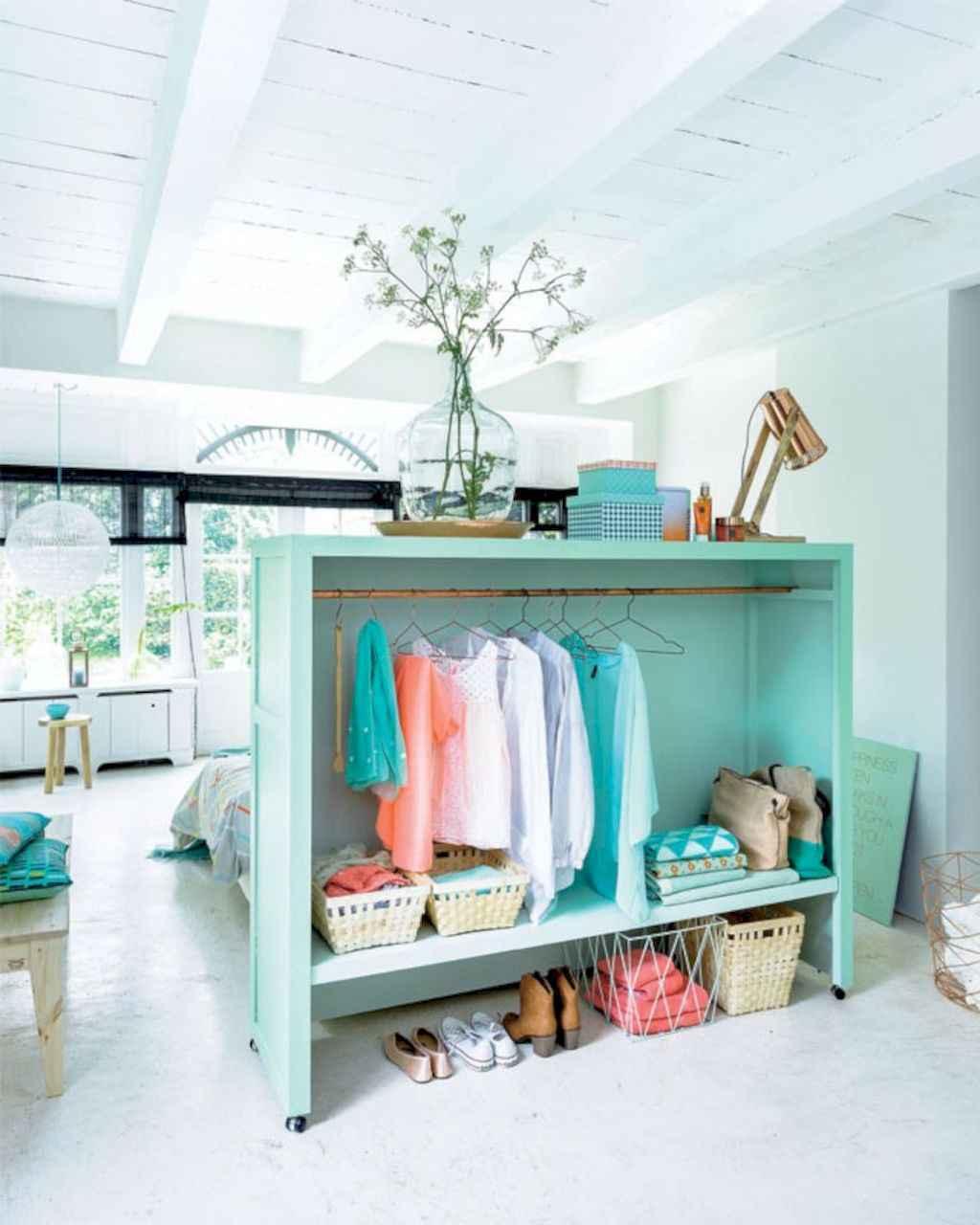 100 Awesome Apartment Studio Storage Ideas Organizing (75)