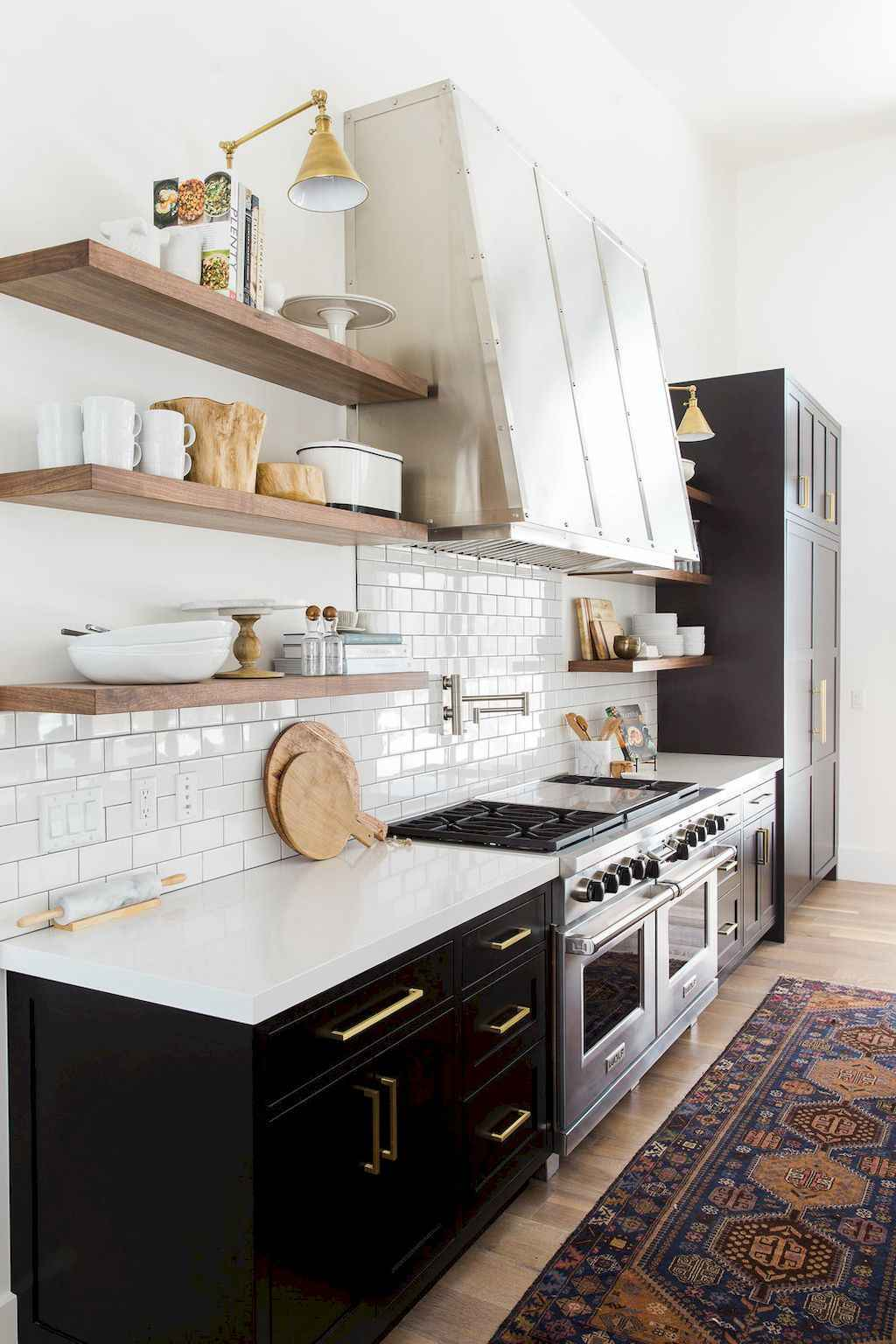 90 Rustic Kitchen Cabinets Farmhouse Style Ideas (52)