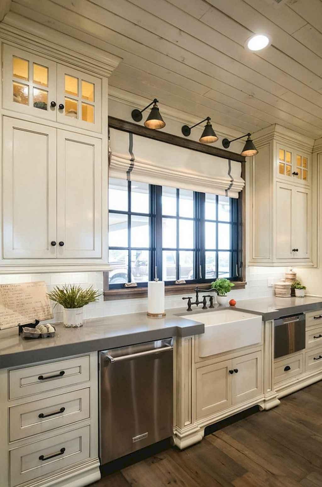 90 Rustic Kitchen Cabinets Farmhouse Style Ideas 76