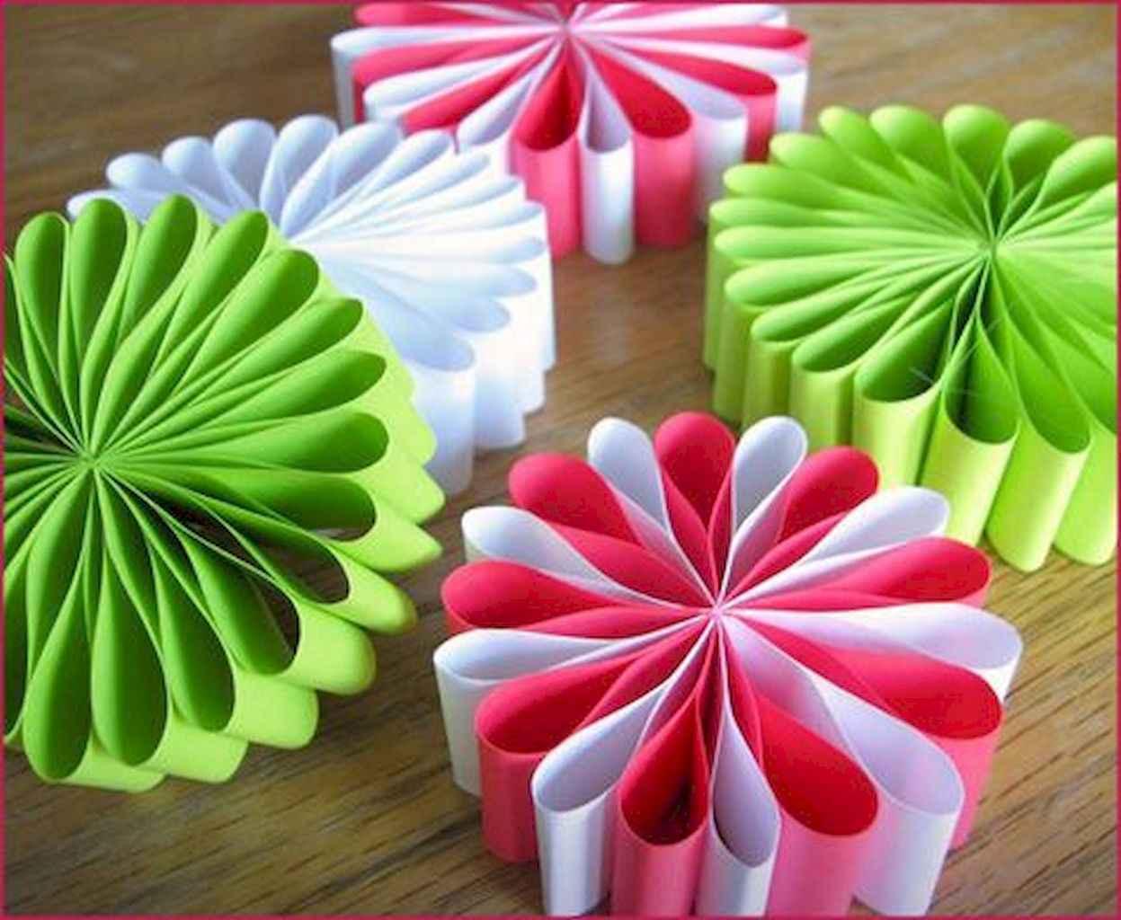 Новогодние игрушки своими руками из бумаги картинки