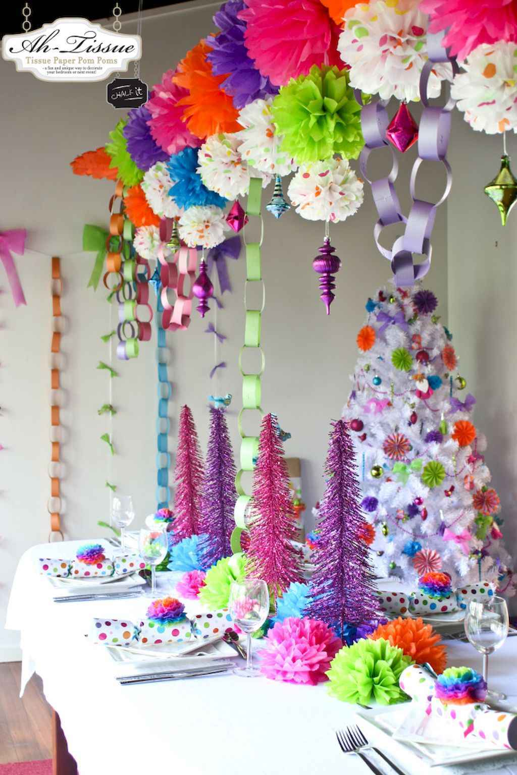 25 elegant christmas party table decorations ideas 14 for Fancy xmas decorations