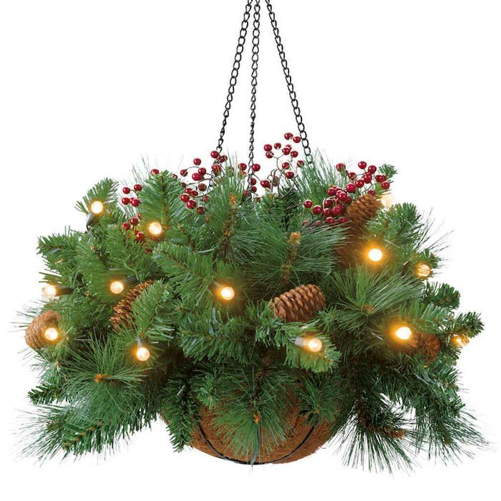 45 Best Christmas Decorations Outdoor Pine Cones Ideas 40