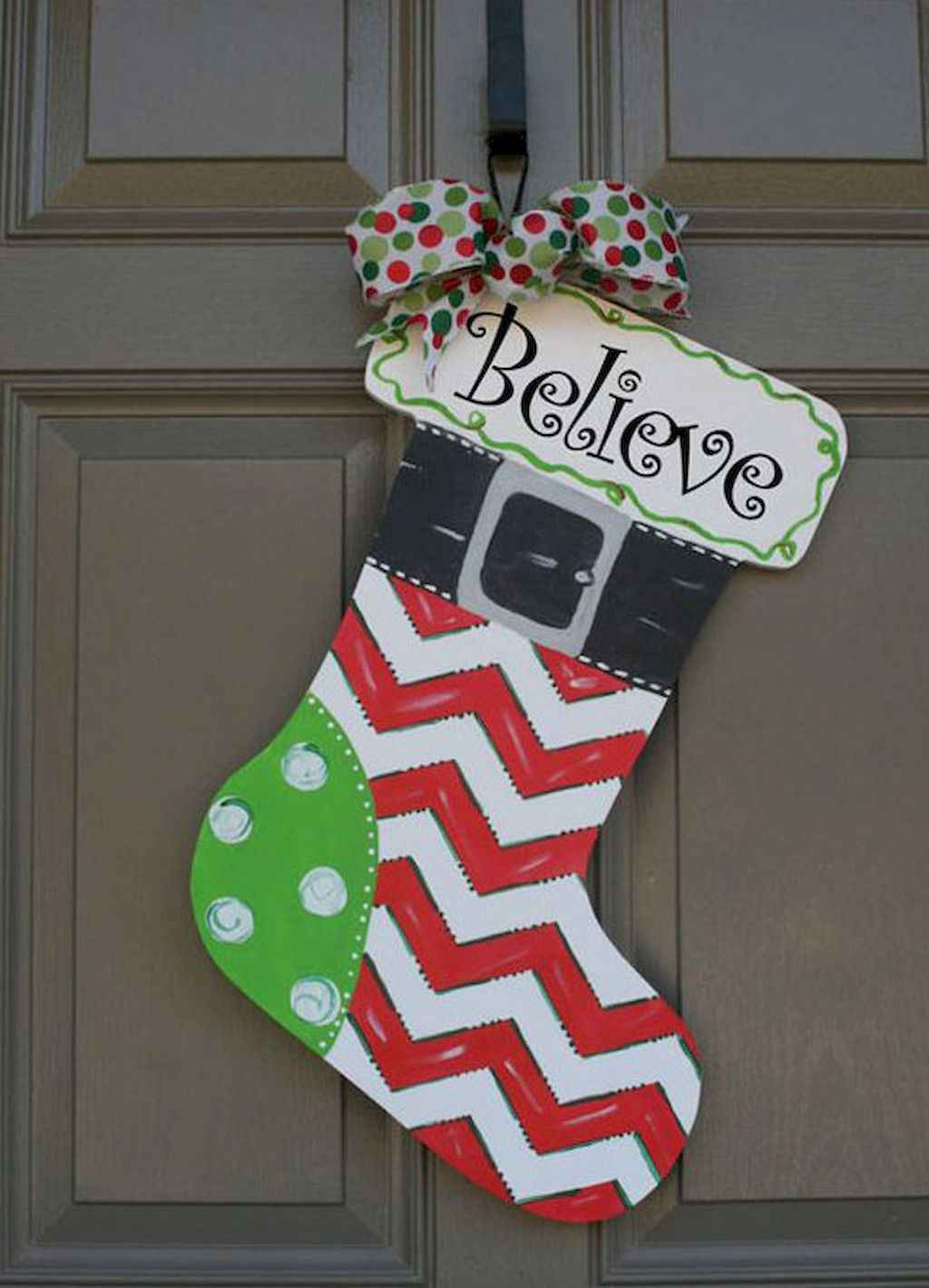 50 Simple Diy Christmas Door Decorations For Home And School 17