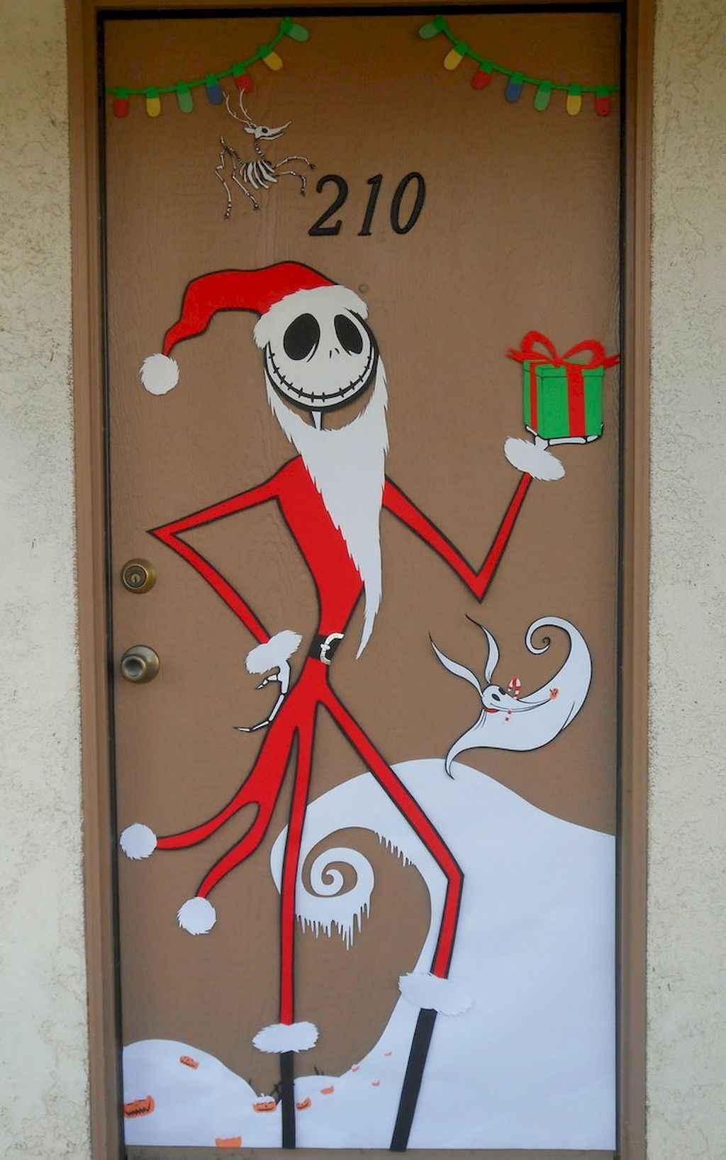 Christmas Door Decorations For School Harambeeco