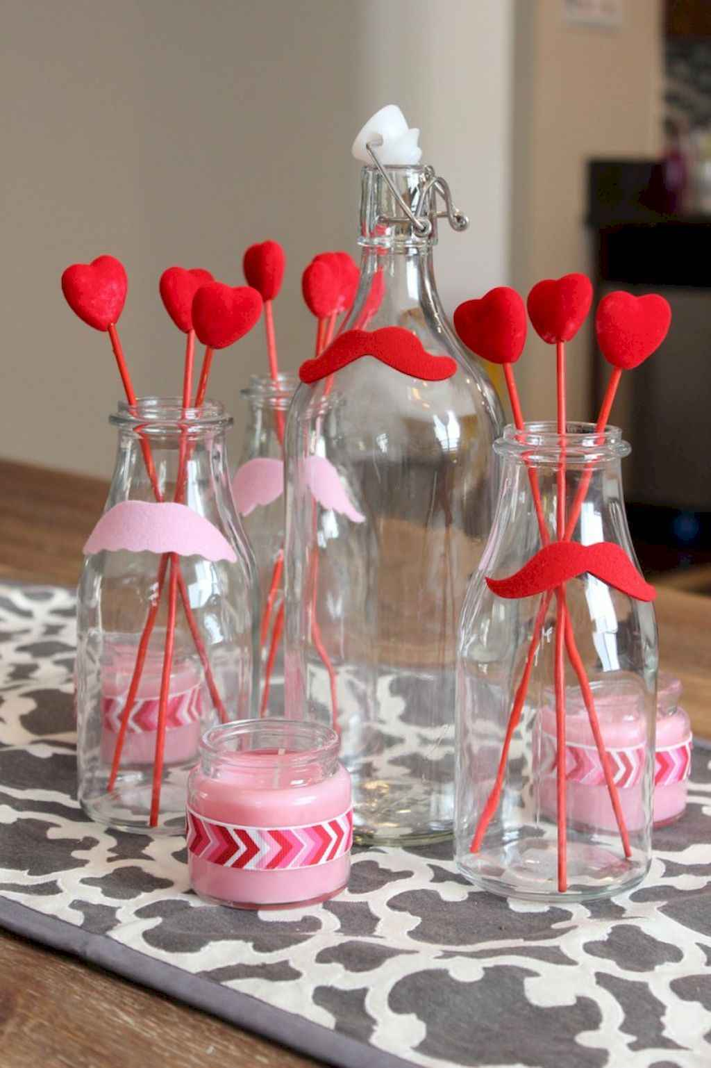 40 Romantic Valentines Decorations Dollar Tree Ideas On A Budget (42)