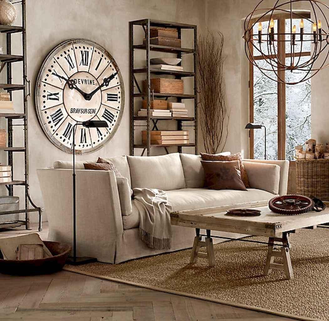 50 Elegant Rustic Apartment Living Room Decor Ideas (38)