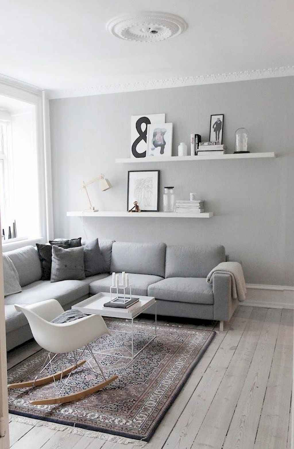 80 Pretty Modern Apartment Living Room Decor Ideas (53)