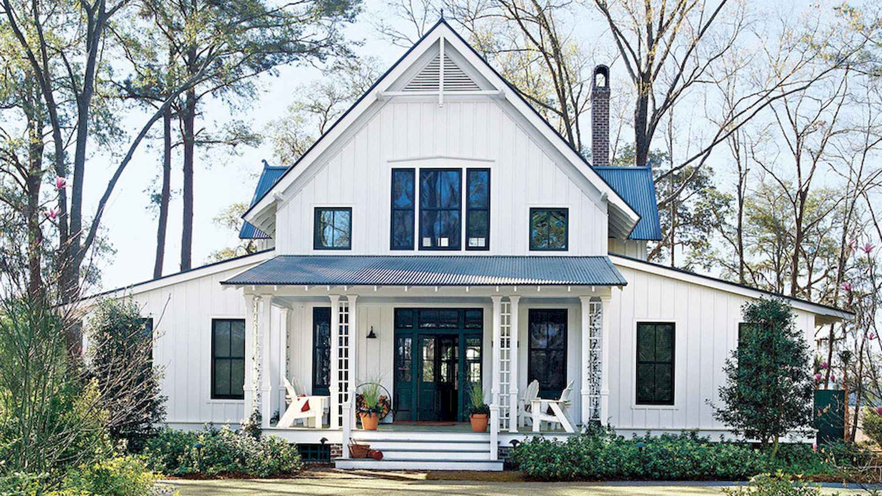 60 Awesome Farmhouse Plans Cracker Style Design Ideas (52)