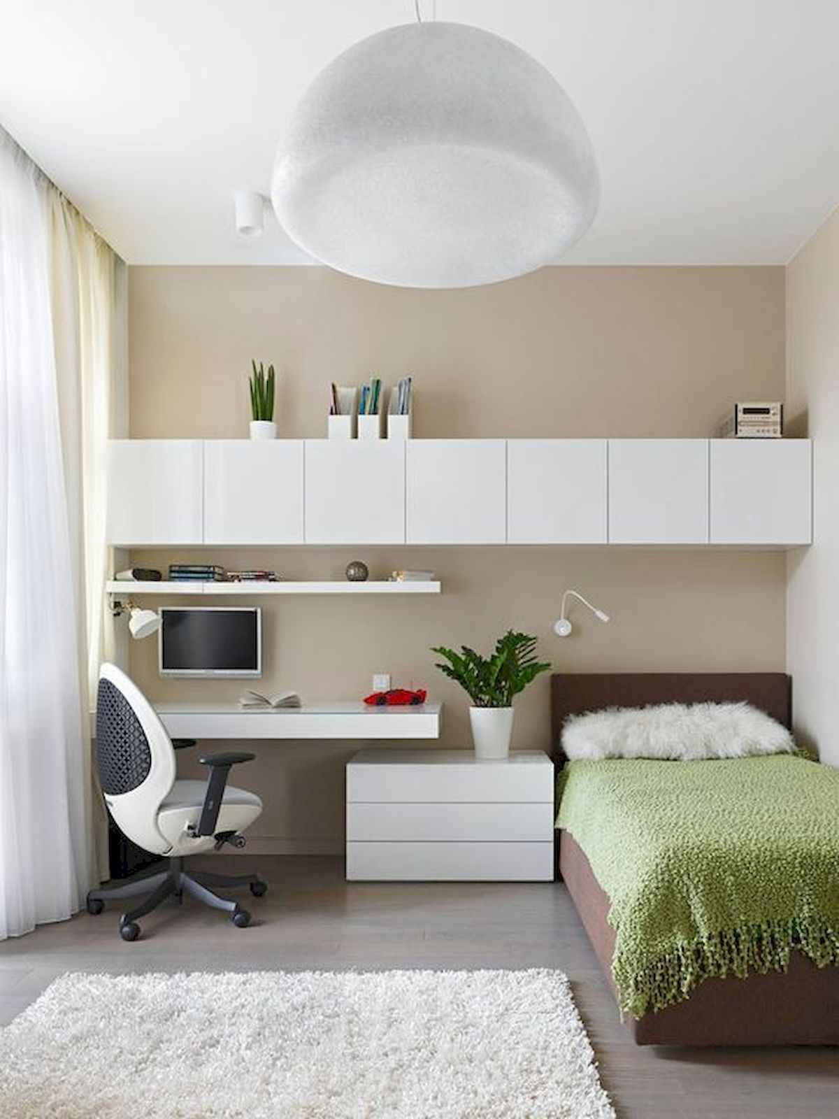 60 Small Apartment Bedroom Decor Ideas On A Budget (53)