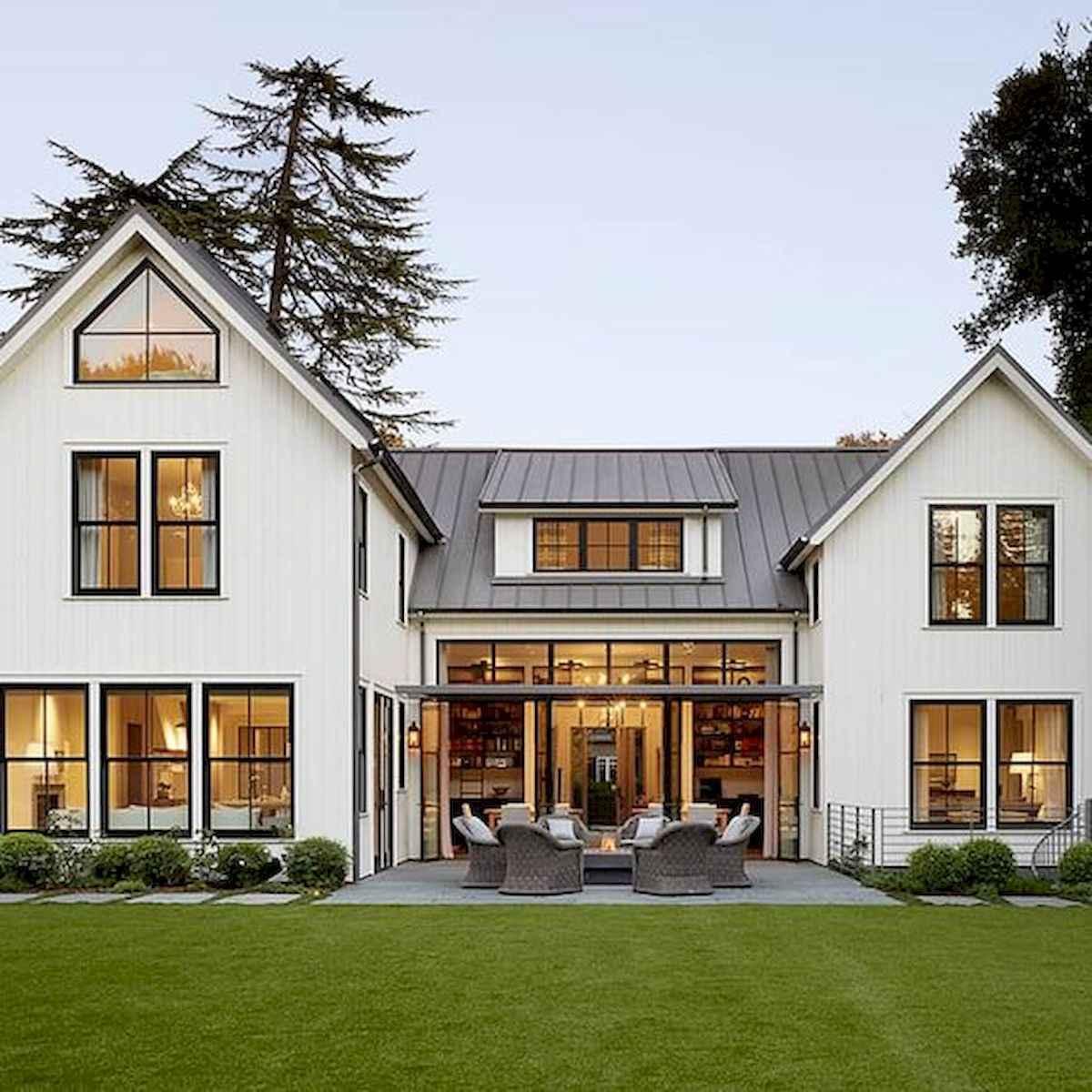 33 Best Modern Farmhouse Exterior Design Ideas (32)