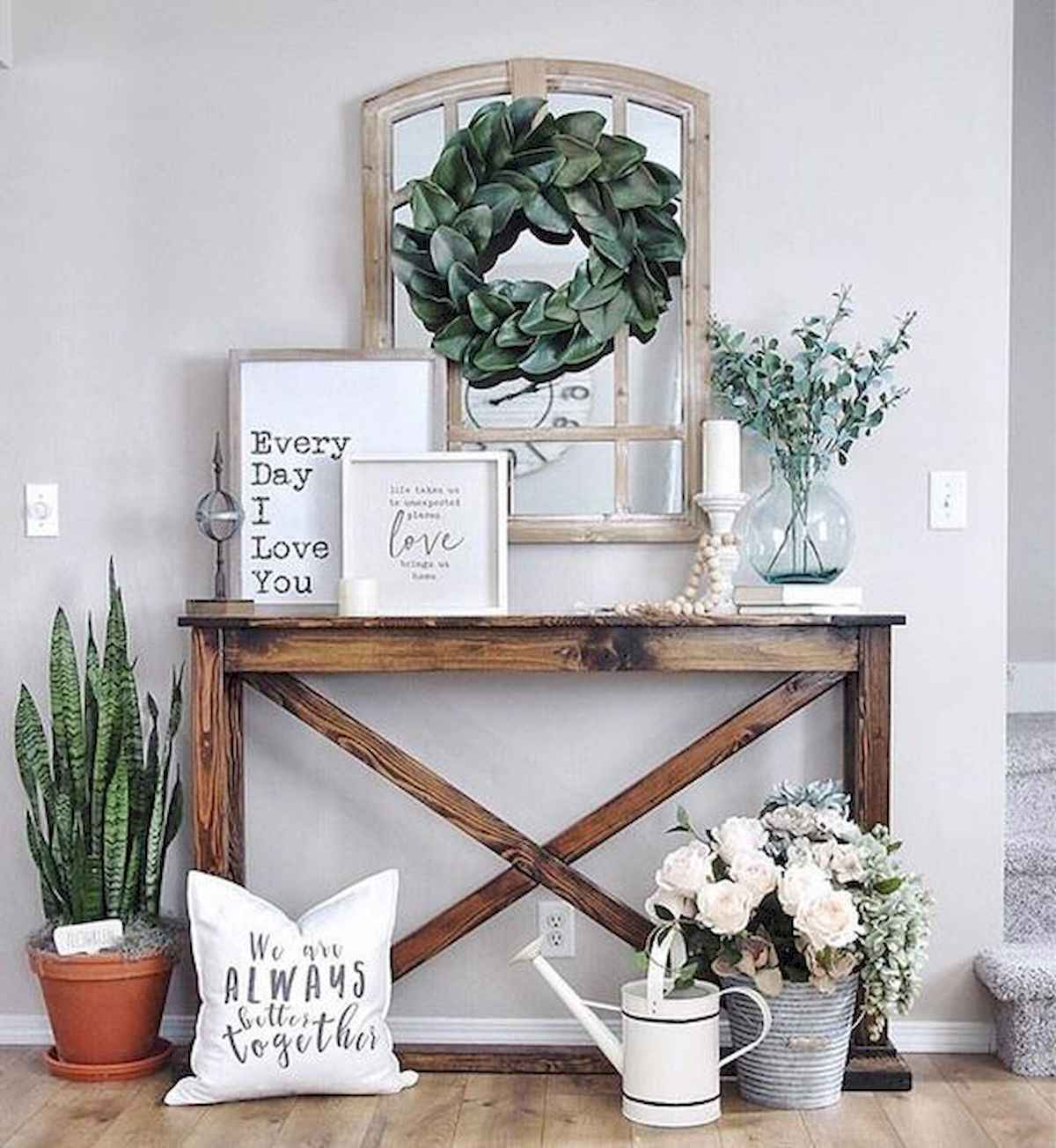 30 Best Farmhouse Living Room Furniture Design (16)