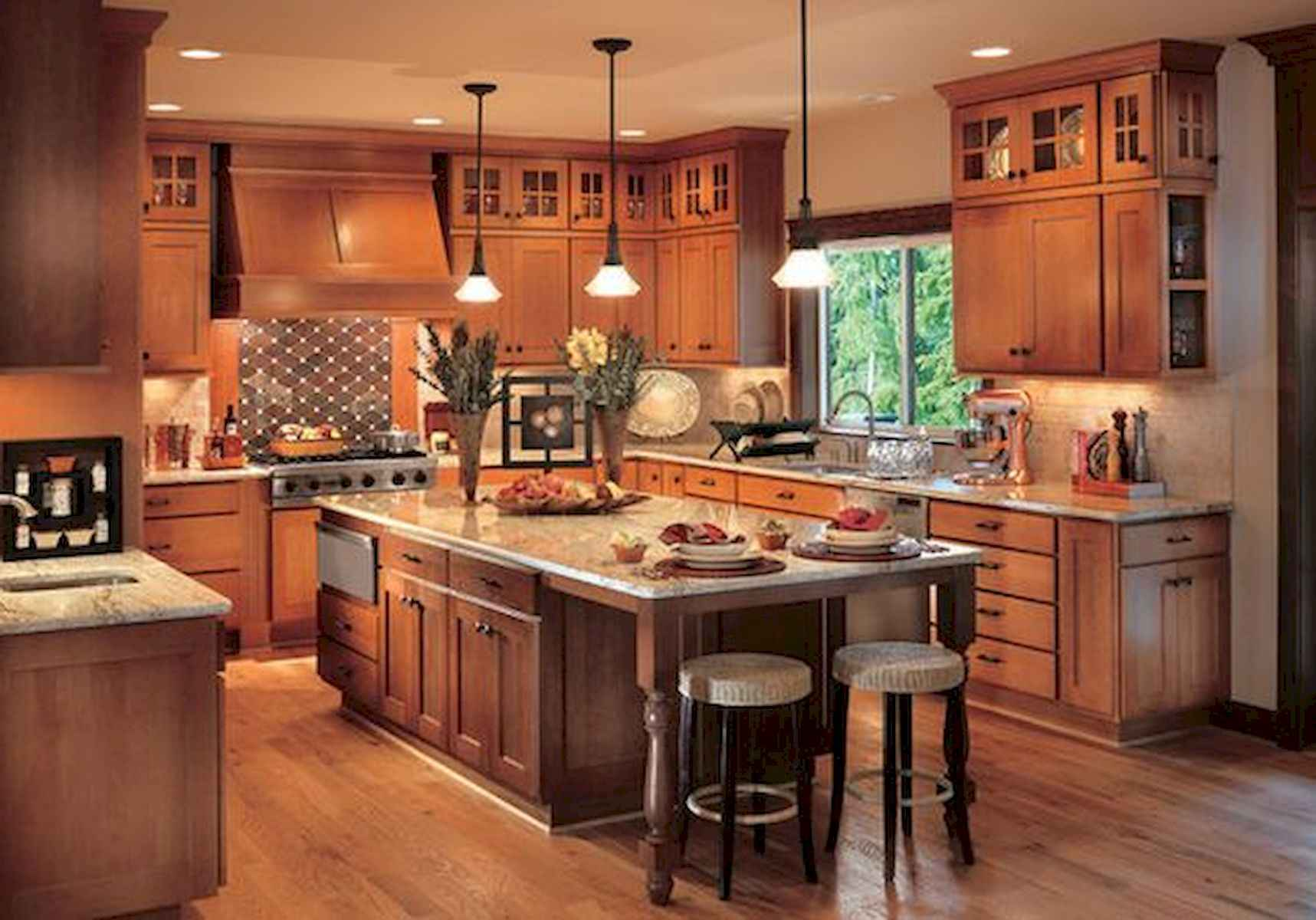 40 Awesome Craftsman Style Kitchen Design Ideas (7)