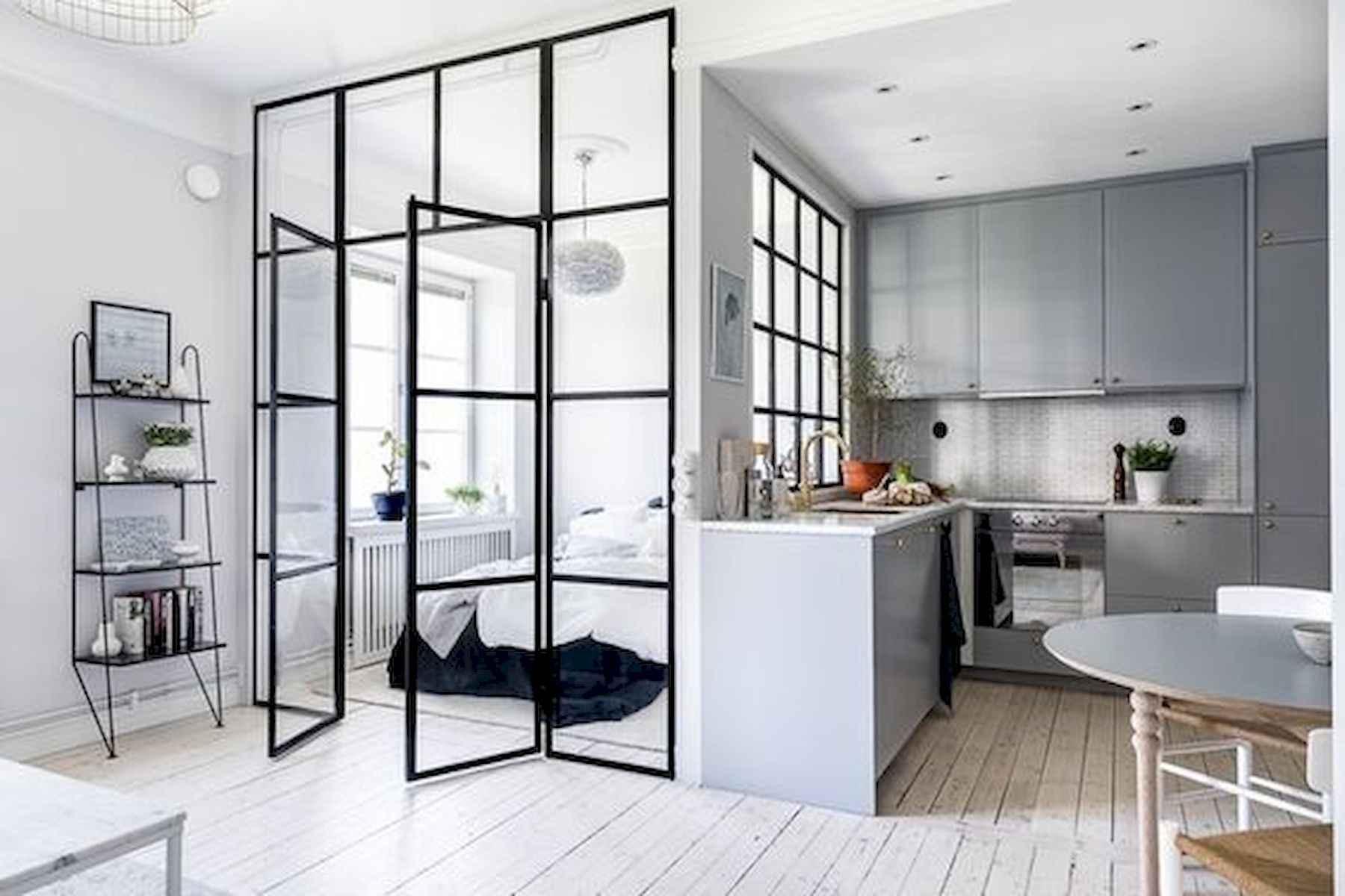 50+ Stunning Minimalist Studio Apartment Small Spaces Decor Ideas ...